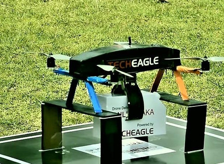 Indian manufacturer TechEagle launch drone deliveries in Ethiopia
