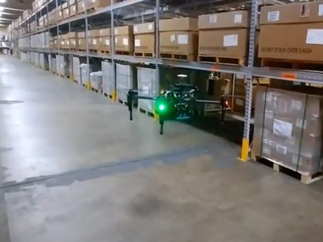 "Ikea explores use of drones ""to improve efficiency of warehouses"""