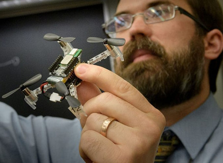Abu Dhabi funds US research at Purdue University into secure drone swarms in urban environments