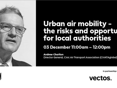 Urban Air Mobility: The risks & opportunities for Local Authorities