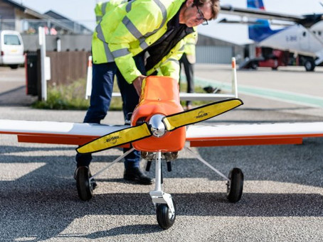 Update: Steamship Company team up with Flylogix drones for delivery service trial to Isles of Scilly