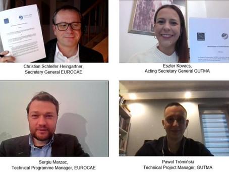 EUROCAE and Global UTM Association (GUTMA) sign Memorandum of Understanding