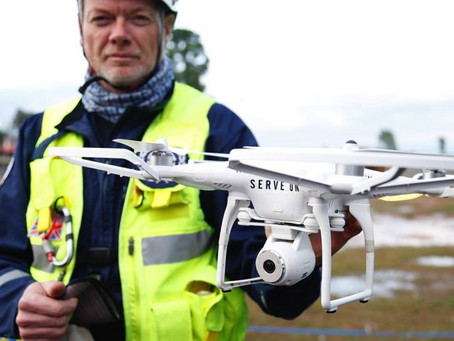 "Researchers claim ""new breakthrough for First Responders to improve communication with drones in..."