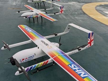 UK Essex: NHS deploy drones to deliver Covid-19 kit between hospitals
