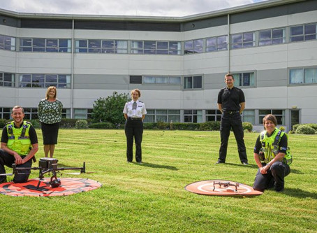 Special UK police unit trained to use drones to uncover and stop criminal activities