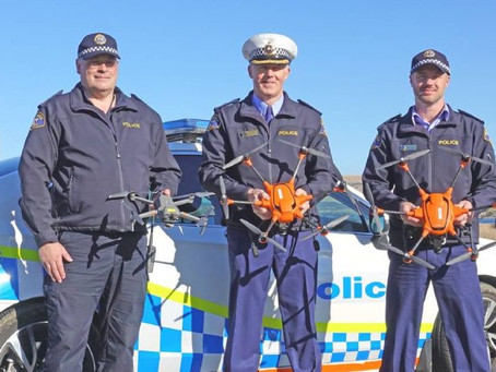 Tasmania police increase drone fleet to find guns and chase down vehicles