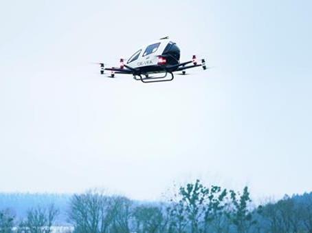 EHang obtains permit to fly autonomous air vehicle in Austria
