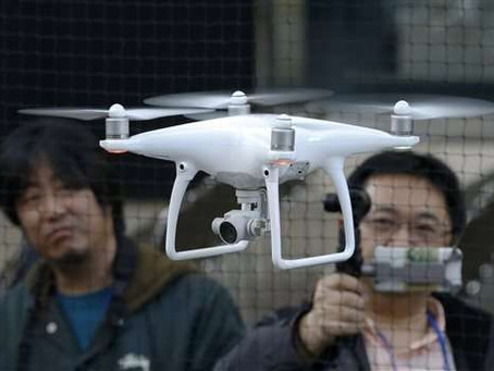 "Japan impose ""stricter rules"" governing use of drones weighing as little as 100 grams"