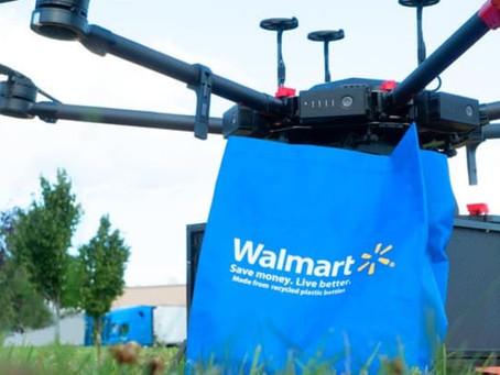 Walmart to trial drone deliveries of grocery and household items