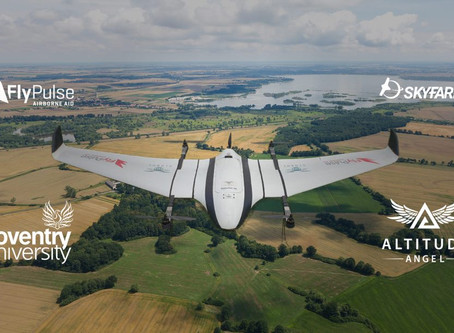 Altitude Angel partner with Skyfarer, Flypulse And Coventry Uni for BVLOS medical drone delivery ser