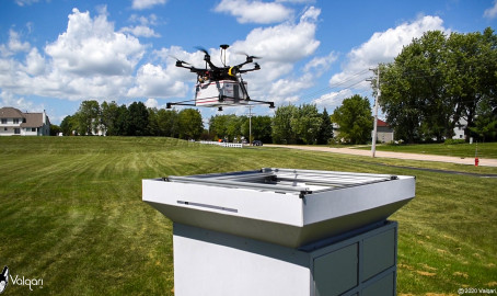 U.S. Chicago start-up launches its drone delivery station