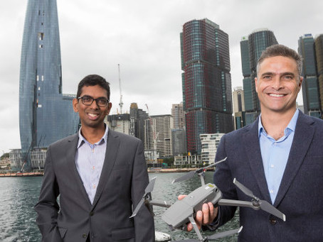 "Australia: Drone start-up strikes gold with ""major pre-seed investment"""