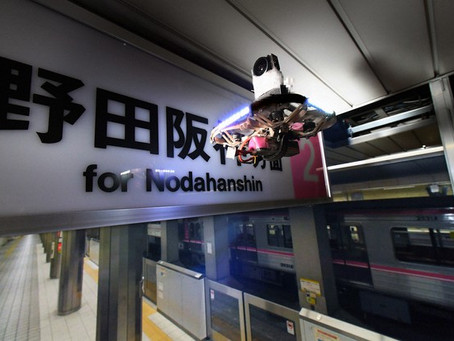 "Osaka Metro deploys drones to inspect ""nooks and crannies"" in subway stations"
