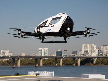 """South Korea: Drone taxis and """"bags of rice"""" take to the sky in Seoul"""