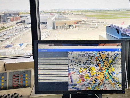 Tests at Toulouse airport track drones in real-time using Clearance platform