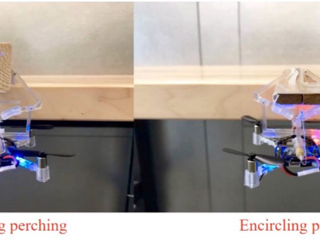 "Mechanical gripper allows drones ""to hang from objects"""
