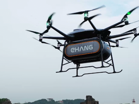 EHang signs deal with DTL to start operations in Scotland