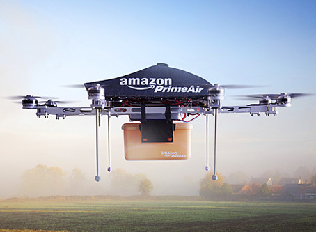 """Amazon prepares to """"roll out fleet of drones"""" for UK medical deliveries"""