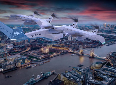 "UK's Vertical Aerospace unveils designs for ""revolutionary flying taxis"""
