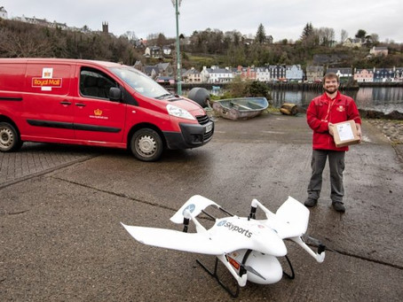 UK Royal Mail Fast-Track: First trial of post delivery by drone already takes place