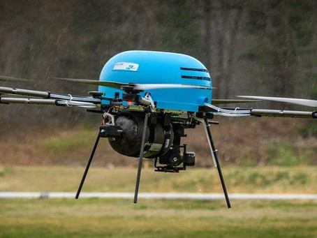 South Korea: Hydrogen drone delivers emergency packs to Mount Halla