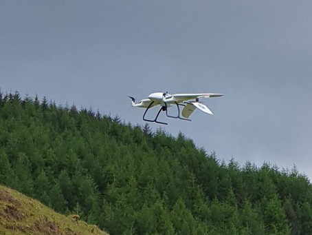 Drones may soon be delivering products to rural communities across UK