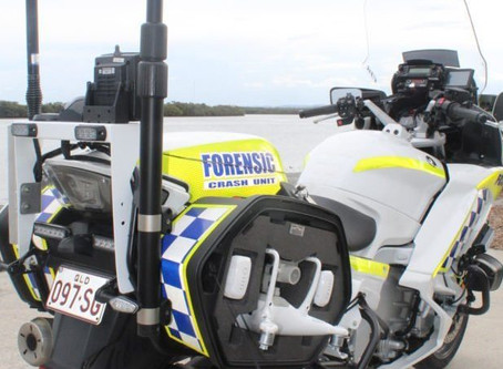 Australian motorcycle police add drones to itinerary