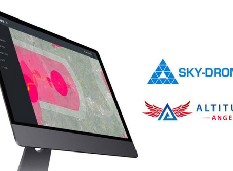 Watch video: Altitude Angel UTM integrates into Sky-Drones cloud software: Offers FREE trial!