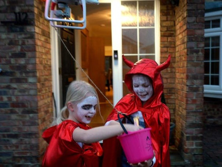 Watch Best Video Ever: UK man liberates Halloween from clutches of Covid regulations with special...