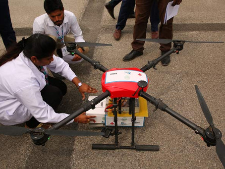 Covid-19: India consider use of drones to assist despatching vaccine to 1.4 billion people