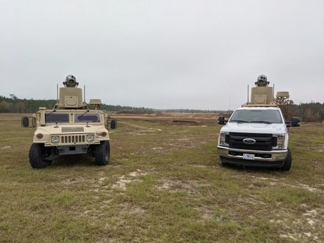 US defence agency takes delivery of mobile counter drone capability supplied by ELTA North America