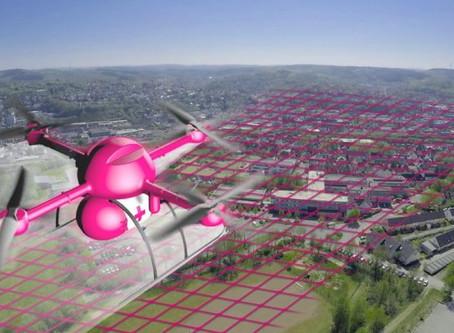 Deutsche Telekom experiments with drones for medical logistics