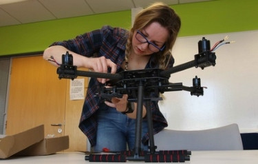 Drones for good: Aberdeen University student builds specialist drone for emergency aid: Watch video