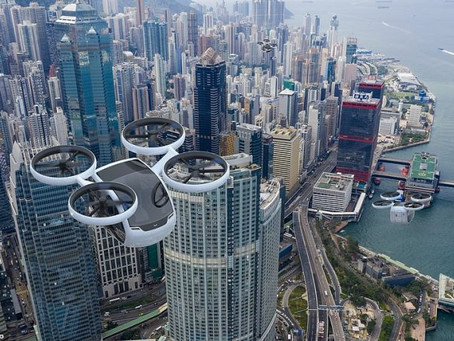The KITE: Welcome to the latest sleek flying taxi