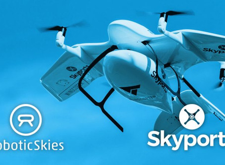 Skyports partners with Robotic Skies to develop UAS maintenance program for drone delivery