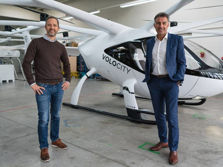 Volocopter & Lufthansa Industry Solutions link to develop UAM ecosystem digital connection platform
