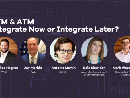World ATM Congress panel reviews UTM innovation and harmonisation through government/industry