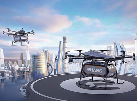 EHang launches 200kg payload cargo version of its 216 autonomous air vehicle