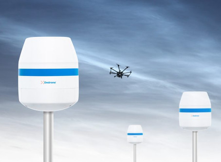 Dedrone introduces new radio sensor to protect critical infrastructure