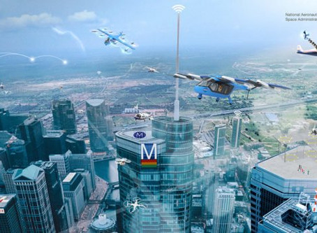 New York gains financial prize to research delivery drones and air taxis