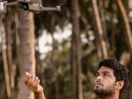 Drones for good: Teenager rescues 4 drowning fishermen off Kerala coast with drone