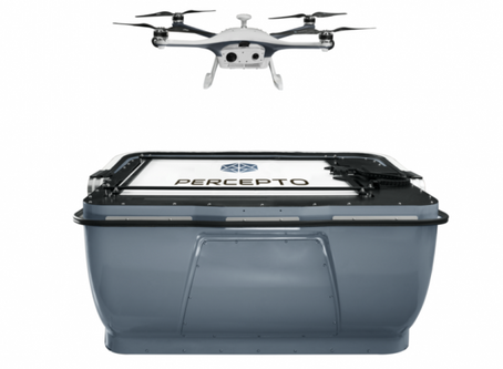 """Percepto gains BVLOS approval to fly autonomous drones in Israel's """"ICL Dead Sea operations site"""""""