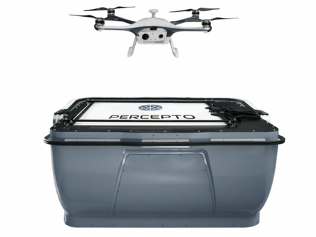 "Percepto gains BVLOS approval to fly autonomous drones in Israel's ""ICL Dead Sea operations site"""