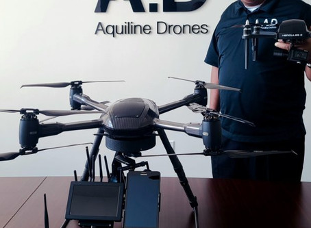 """New app for """"drone-on-demand services"""" by Aquiline Drones"""