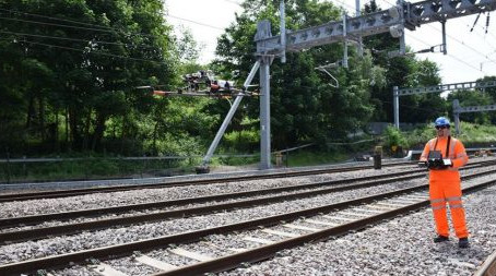Drones to help Scotland's rail network save lives and cut disruption for passengers