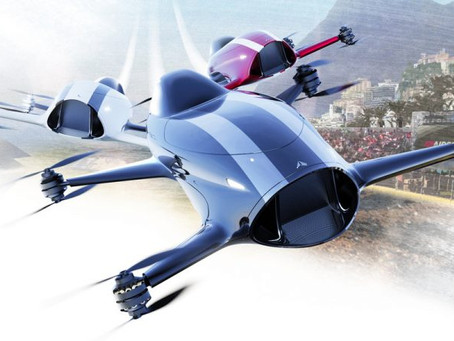 "Welcome to Airspeeder: ""Motorsport in the Sky"""