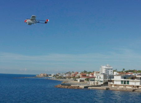 """Leonardo and partners """"successfully trial drones for transporting health supplies"""