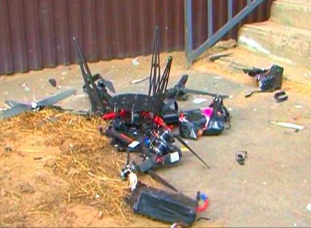 UK drone crash accident investigators highlight problem of Ligador signal interference