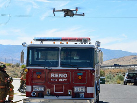 U.S. Reno partners with Iris Automation to equip fire dept with drones