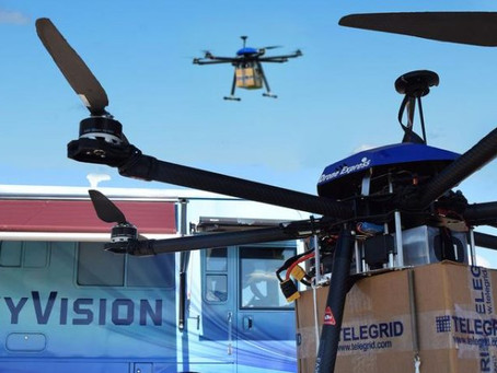 "Drone delivery company trials ""unique radar system for BVLOS"" in Ohio, USA"